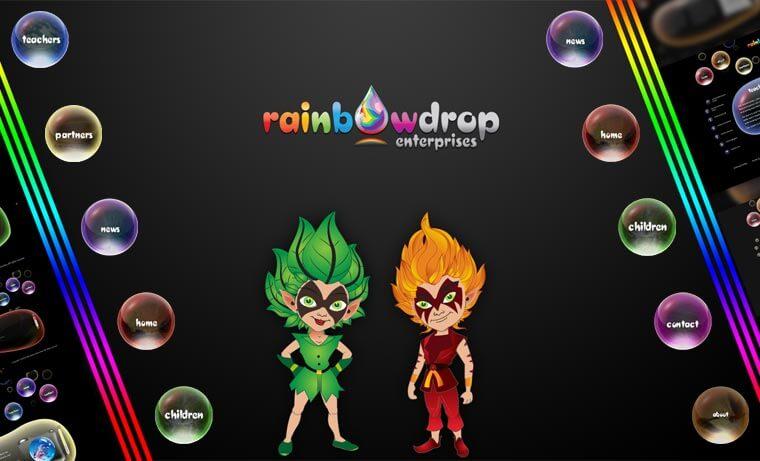 Avalde Digital Agency Sydney Brisbane Digital Agency virtual world development for Rainbowdrops