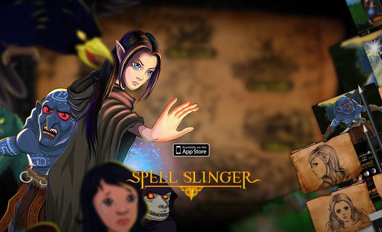 Avalde Digital Agency Sydney Brisbane Digital Agency game app development iOS - Spell Slinger
