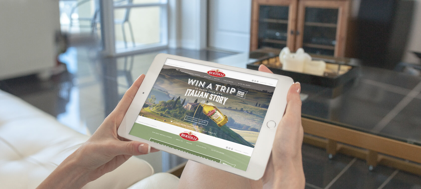 Sydney-digital-agency-homepage-slider-bertolli-ipad